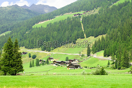 valley ultimo in south tyrol