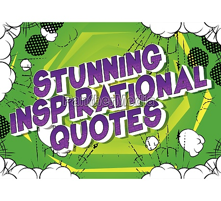 stunning inspirational quote comic book