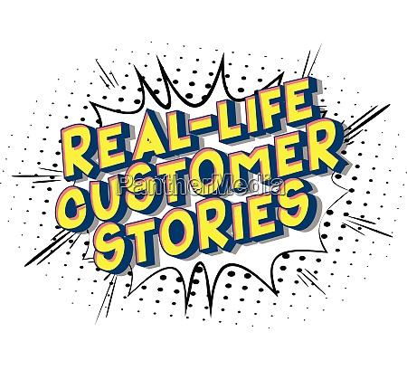 real life customer stories comic