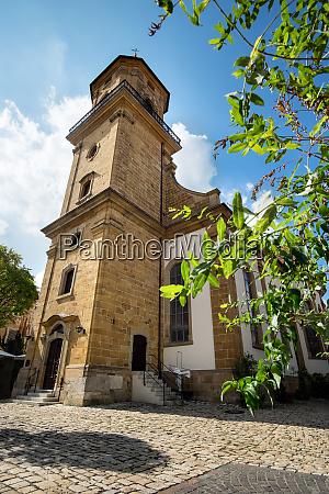 church st nikolaus in the town