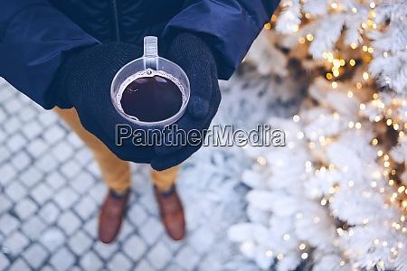weihnachtszeit in der stadt