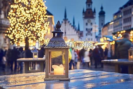 traditioneller weihnachtsmarkt