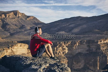 entspannung in den bergen