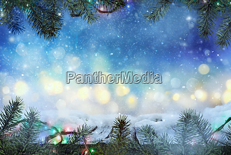 winter design christmas background with