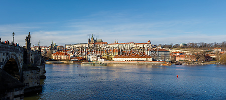 cathedral and prague castle czech republic