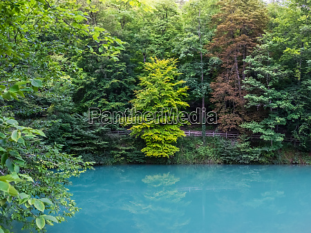 blaubeuren blautopf blau wasser touristische destination