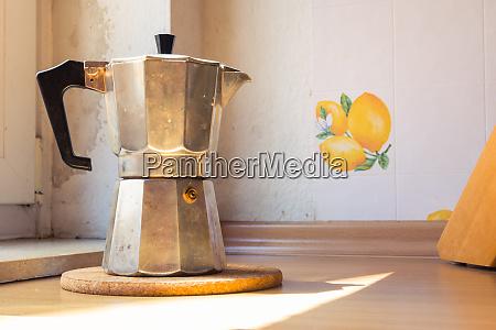 italian coffee espresso pot kettle cooking