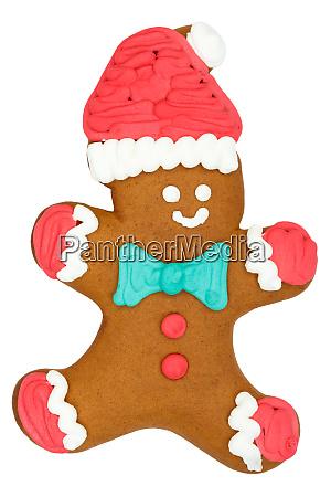 christmas market gingerbread little man food