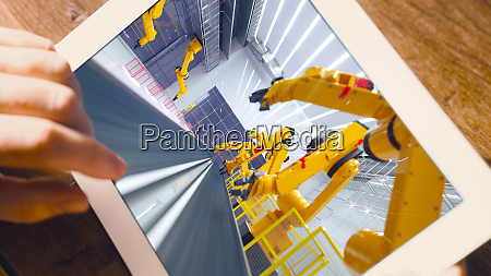 smart automation industry robot in action