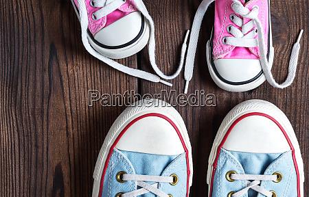 kinder und erwachsene textil sneakers