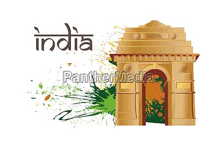 india gate monument celebration independence day