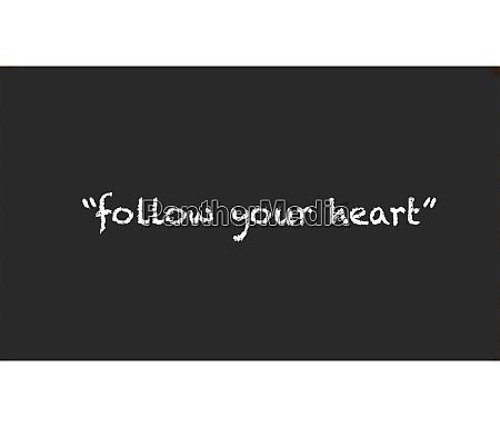 dein herz folgen