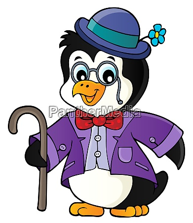 stylized penguin topic image 1