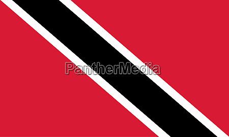 trinidad und tobago national flag