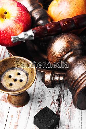 shisha with aroma apple