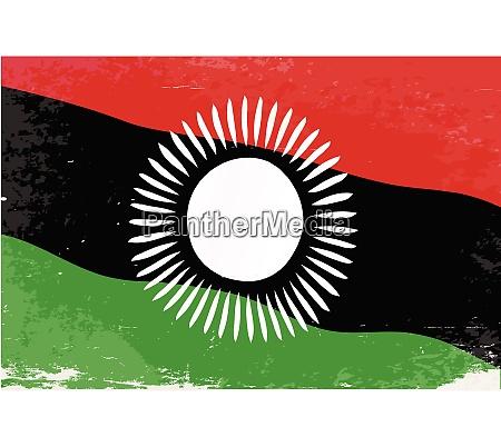 malawi flagge
