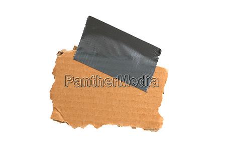 empty brown cardboard