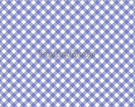 diagonale blaue und weisse tischdecke textur