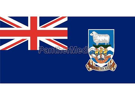 falklandinseln flagge
