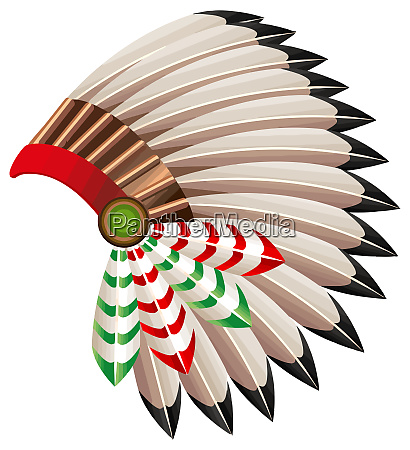 war bonnet american indian native tribal