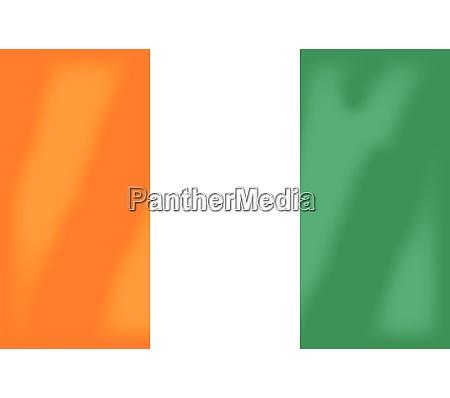 elfenbeinkueste flagge
