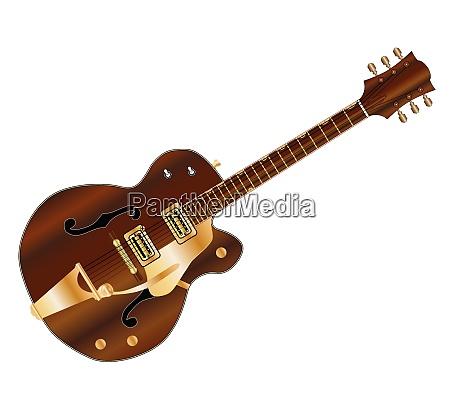 country und western gitarre