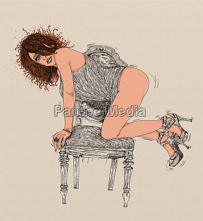 woman erotic raffinierte und sinnliche