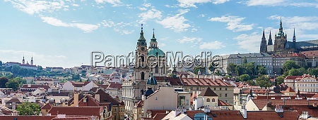 prague castle and st nicholas church