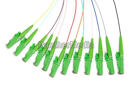 glasfaser single mode hybrid patchkabel