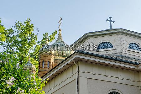 russian orthodox funerary chapel