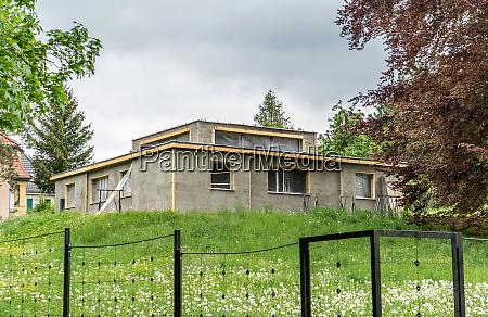 model house of the weimar bauhaus