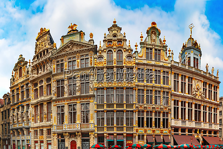 grand place square in bruessel belgien