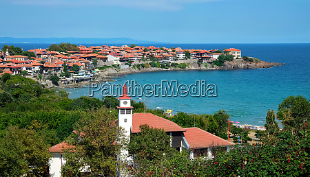 the old part of sozopol in