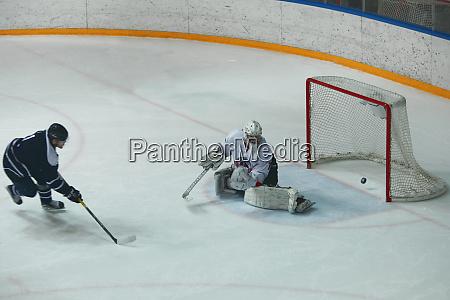 kugel strafe im hockey