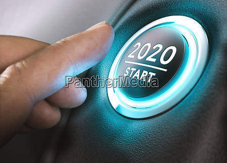 year 2020 start two thousand and