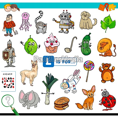 l is for educational game for