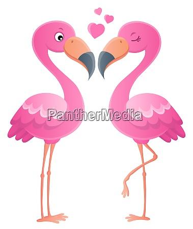 valentine flamingos topic image 1