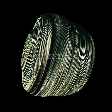 geflochtene flexible steckverbinder auf schwarzem hintergrund