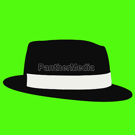 fedora black hat elegance vinatge culture