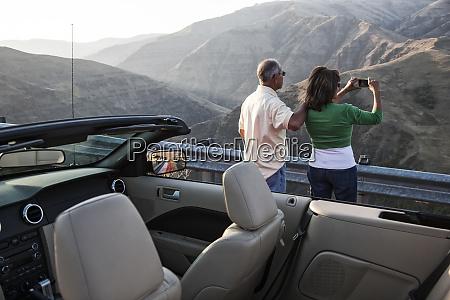 an, hispanic, senior, couple, enjoying, the - 26192598