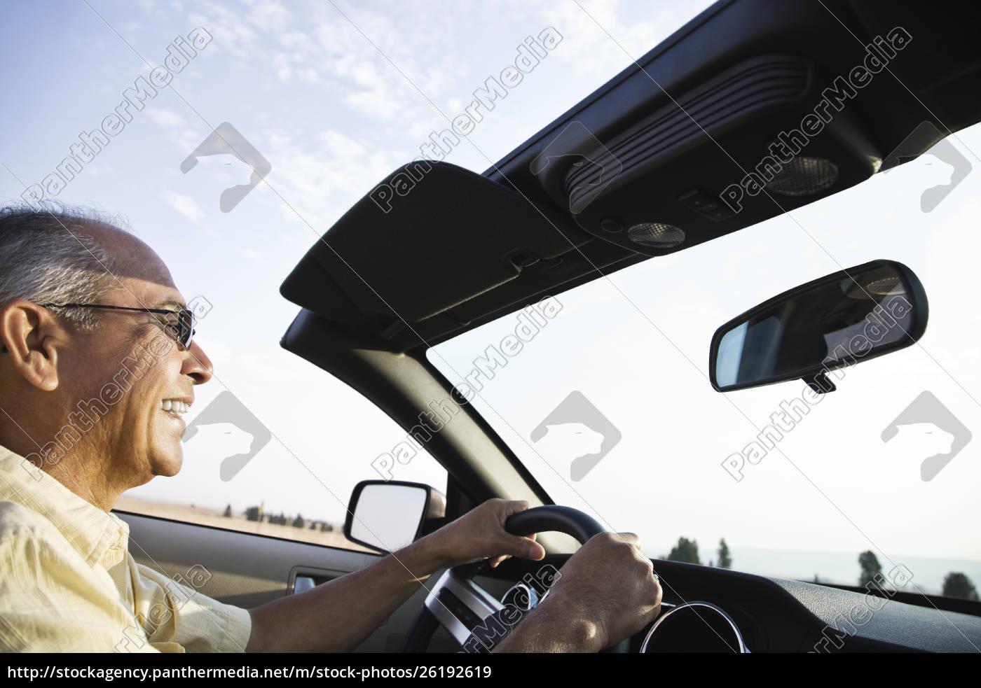 an, hispanic, senior, man, laughing, and - 26192619