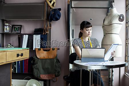 japanese female fashion designer working in