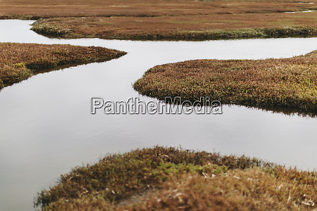 view of marsh and tidelands at