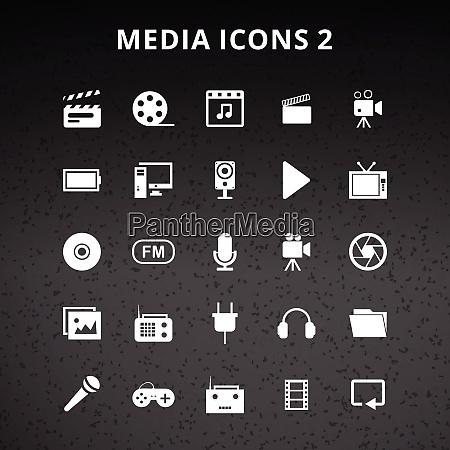 medien icons