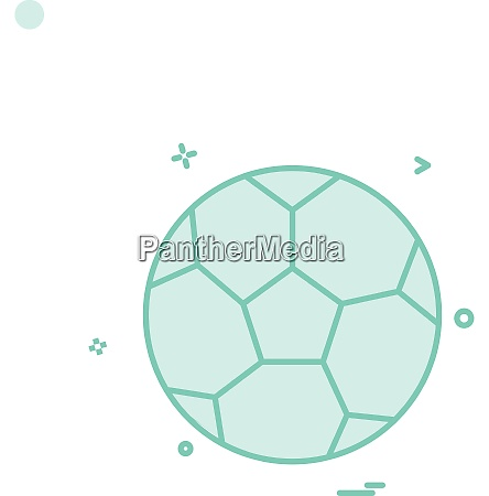 fussball ikone vektor design