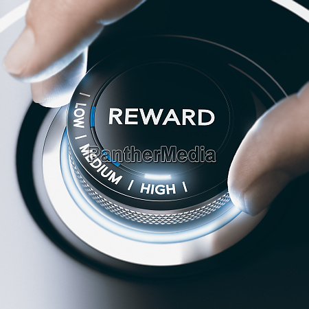 motivation concept reward program with high