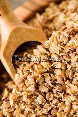 healthy buckwheat flakes