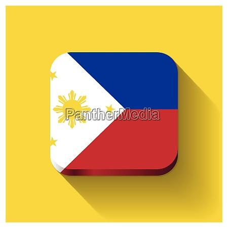 phillipinen kennzeichnet designvektor