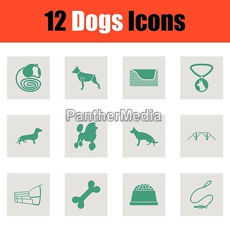 dogs icon set dogs icon set