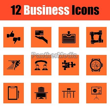 business icon set business icon set